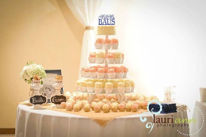 Gigi\'s Cupcakes and Bakery - Wedding Cake - Birmingham, AL - WeddingWire
