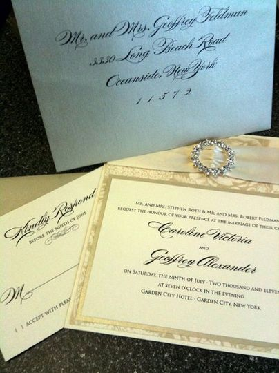 Simple invitations