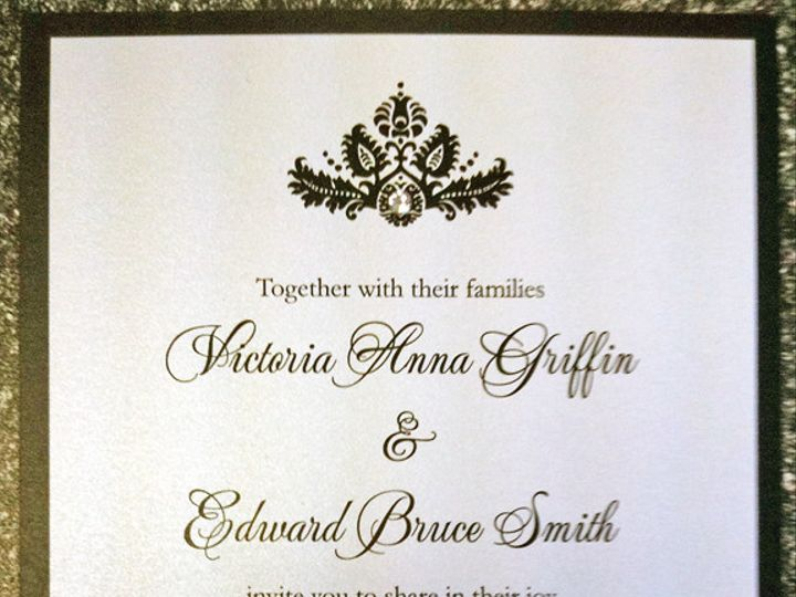Tmx 1380900287417 Victoria Edward Oceanside, New York wedding invitation