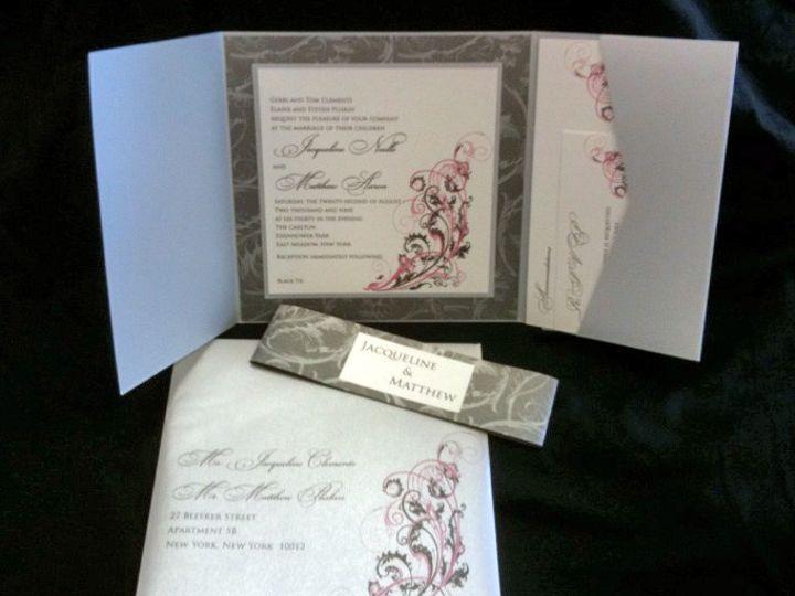 Tmx 1380900515314 Jacquelinematthew Oceanside, New York wedding invitation