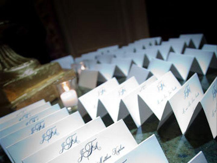 Tmx 1380900517689 Jenniferangelo Placecards Oceanside, New York wedding invitation