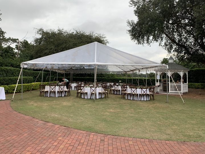 Gazebo Lawn Reception