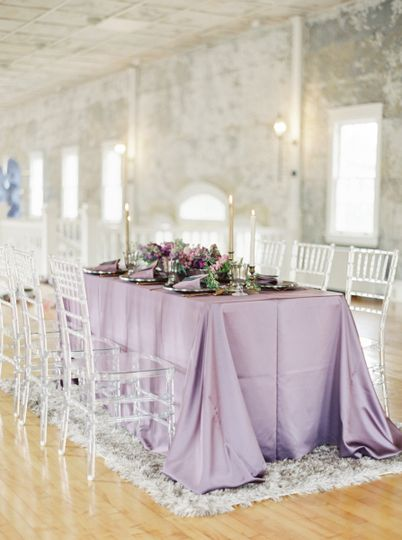 Purple linen | Lauren Fair Photography