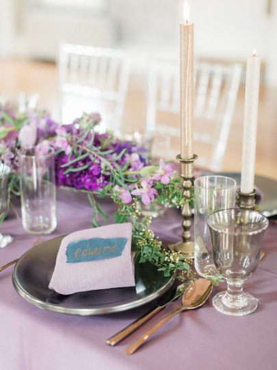 Table setup | Lauren Fair Photography