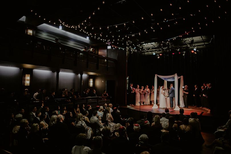 Theater wedding venue