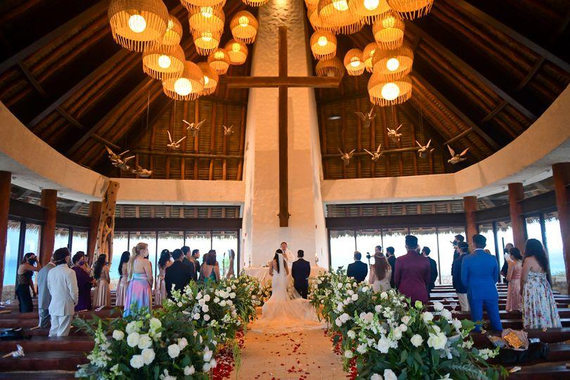 Xcaret Catholic Ceremony