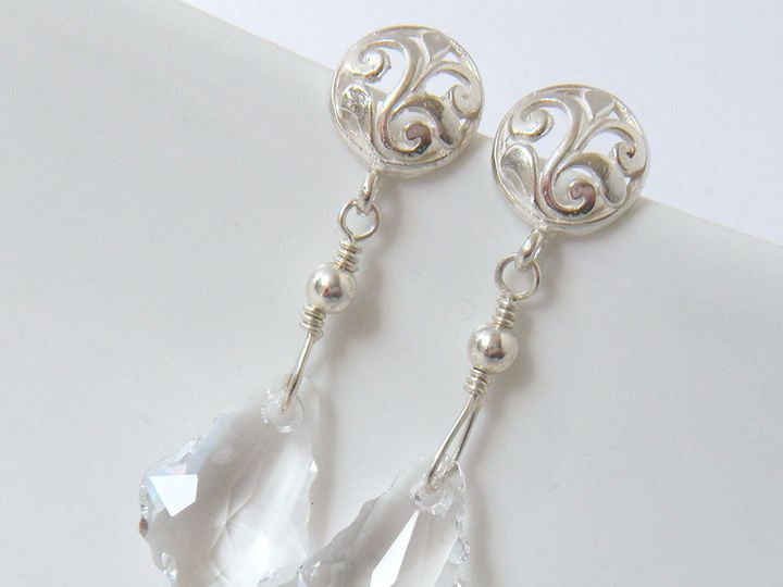 Tmx 1385154870858 Afternoon Duchess Earrings 1000 1 Poughquag wedding jewelry