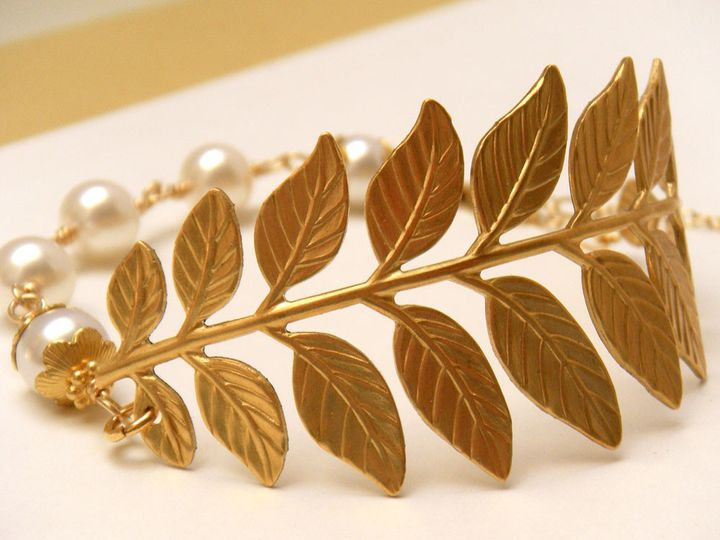 Tmx 1385155266163 Woodland Leaf Bridal Bracelet 1000  Poughquag wedding jewelry