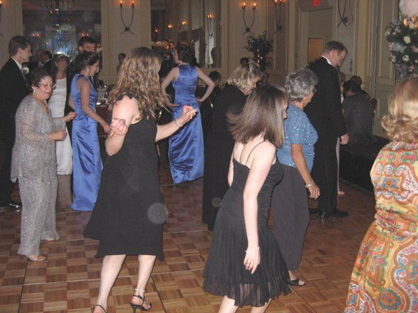 Every Electric Slide done at every wedding.