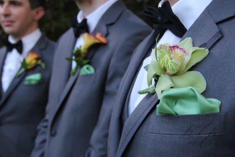 north shore oahu wedding boutonierre