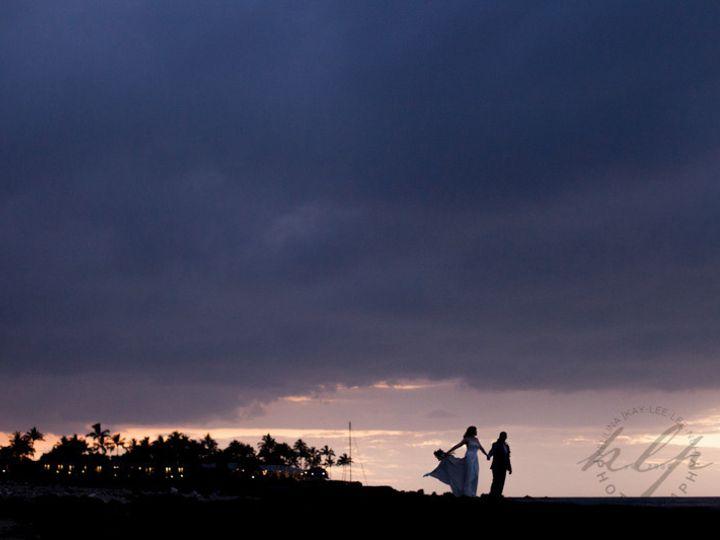 Tmx 1428495623209 Mauna Lani Hawaii Wedding Bride And Groom Silhouet West Palm Beach, FL wedding photography