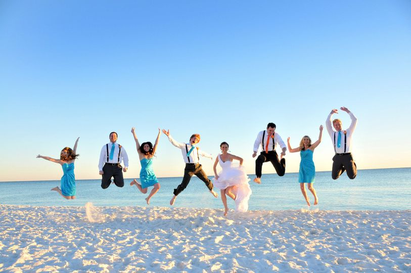 It's fun to get married in Panama City Beach Florida
