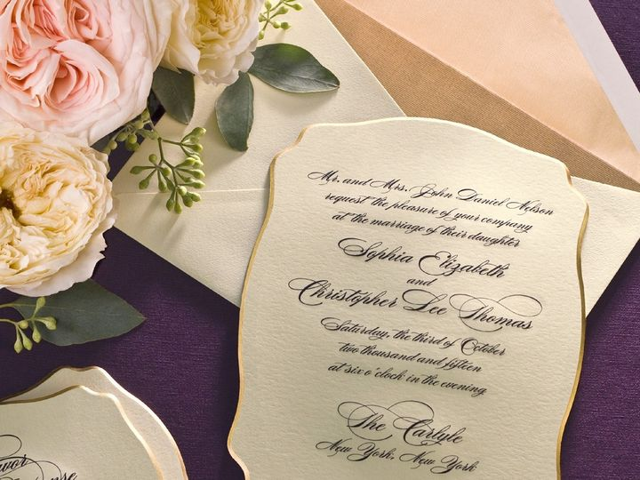 Tmx 1365886082811 Winter13 Wadiecutedgecrop Chester Springs, Pennsylvania wedding invitation