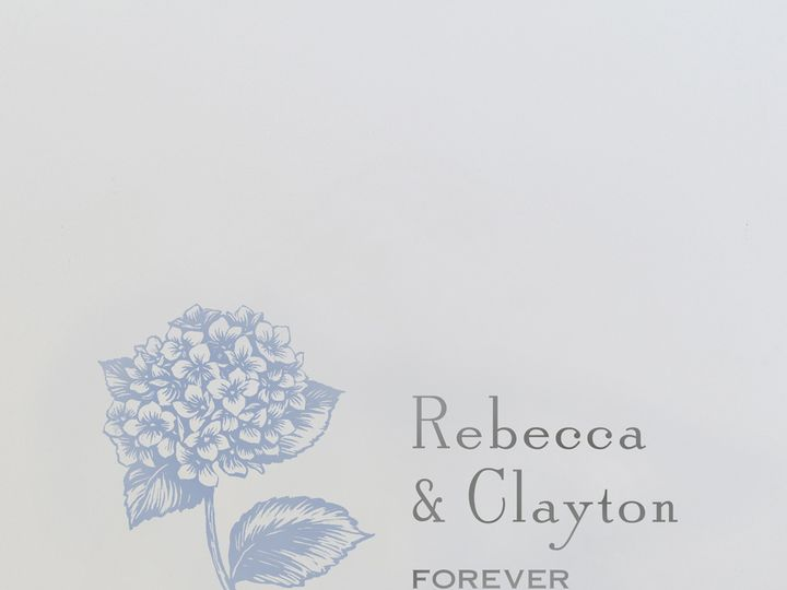 Tmx 1365886343449 84 Cv20101w 660 Foreverwithhydrangea Chester Springs, Pennsylvania wedding invitation