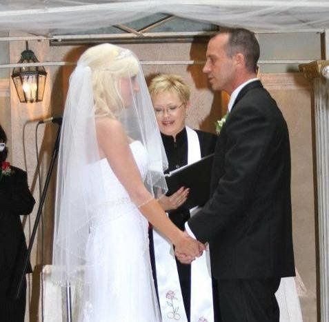 During the ceremony