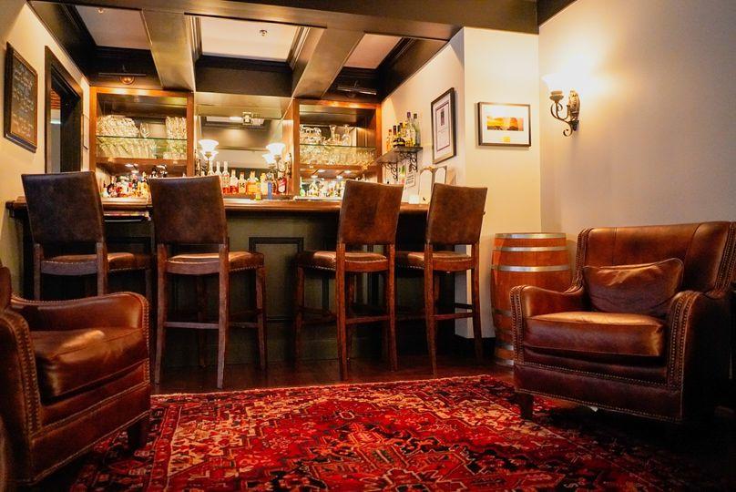 Upstairs Bar Area