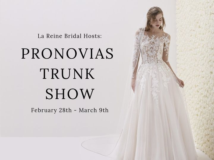 Tmx Pronovias Trunk Show 2 51 29040 V1 Waltham wedding dress