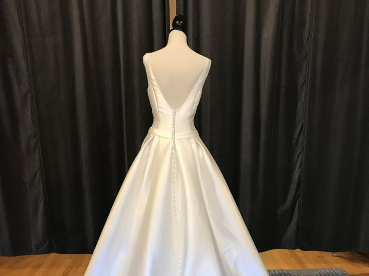 Tmx Simple Ballgown Bow Back 51 29040 Waltham wedding dress