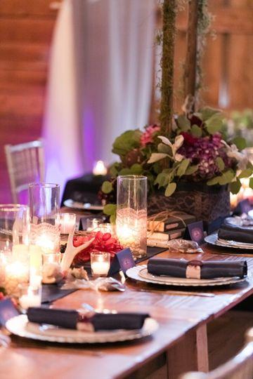 Romantic setup | Barbara Covington Photography