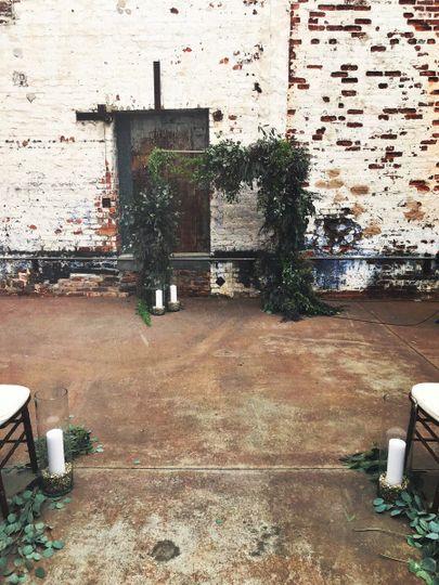 Rustic venue | Ten Point Floral Design
