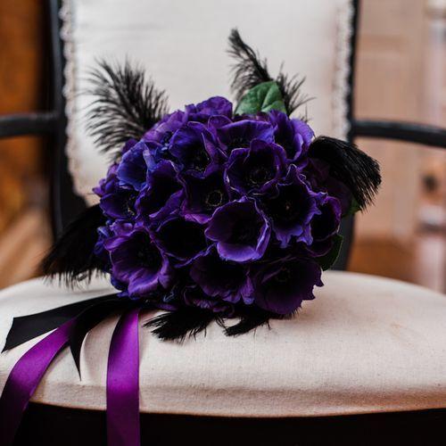 Purple bouquet | BrichPhotography