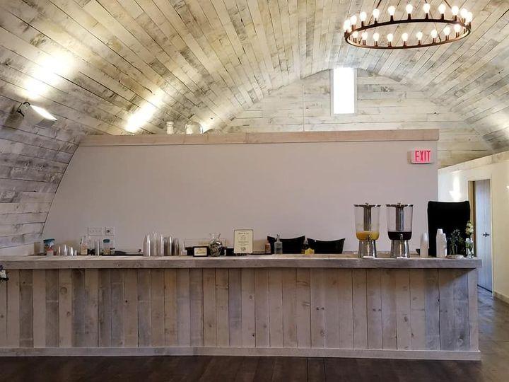 Sample bar set-up