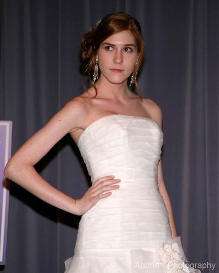 Perfect Wedding Guide Bridal Show Model for Alfred Angelo