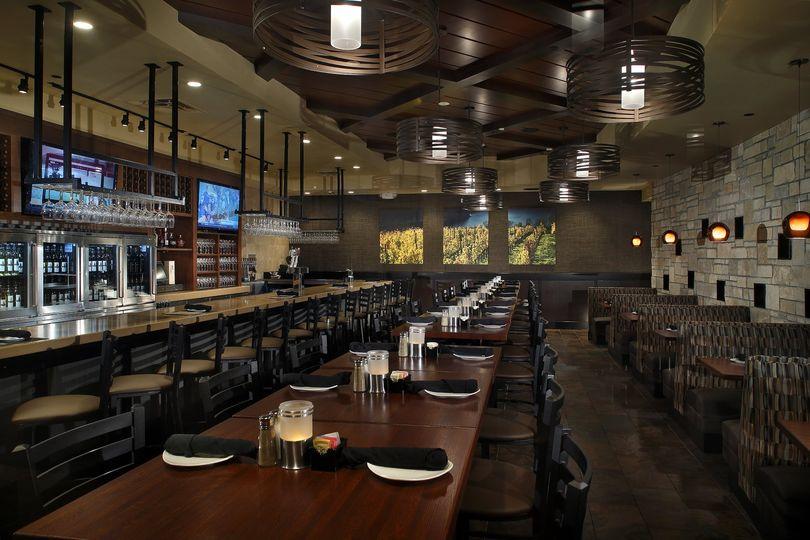 Cooper's Hawk Bar Area