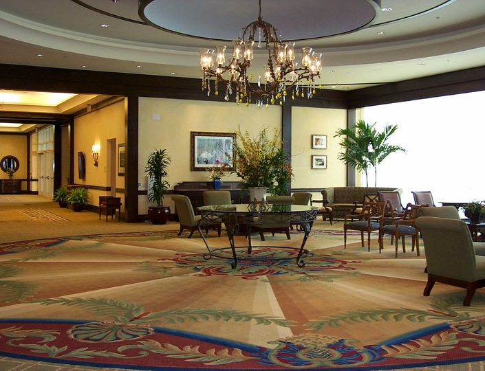 Palm's Ballroom Foyer