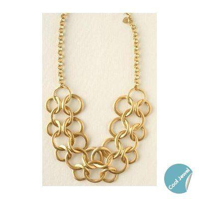 Tmx 1291316378410 STELLAVINTAGELINKSNECKLACE Miami wedding jewelry