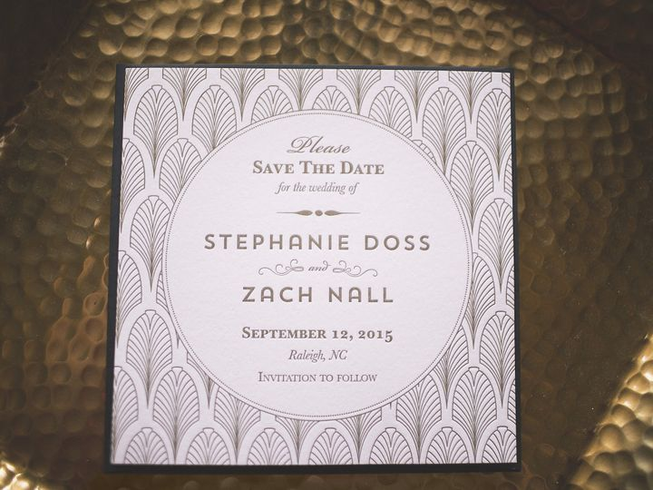 Tmx 1445876721711 1920s Styled Shoot Full Resolution 0015 Cary wedding invitation