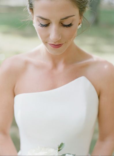 Bride in a beautiful dress