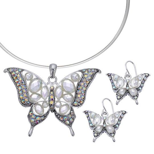 The glitter and glamour in this butterfly set will uplift your sense of nature.  Who wouldn't like...