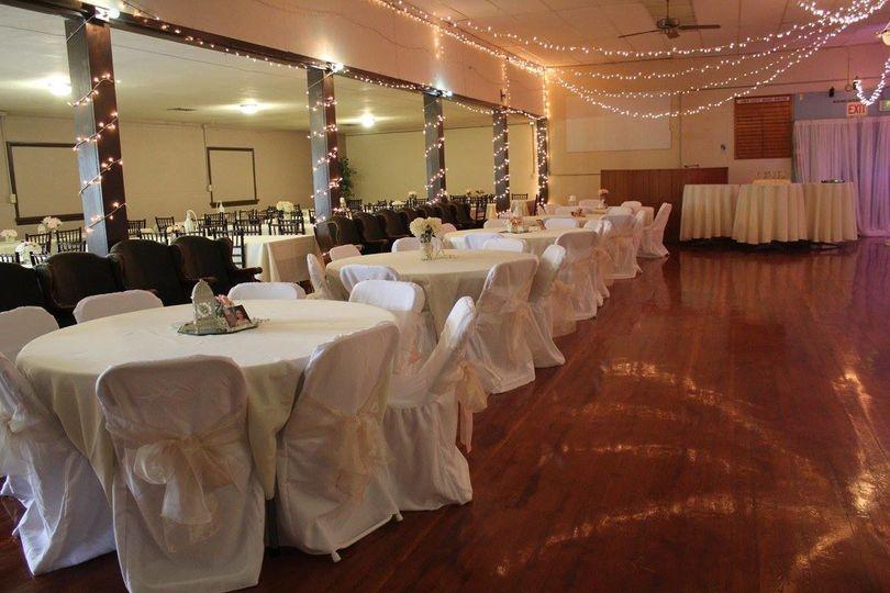 Reception tables