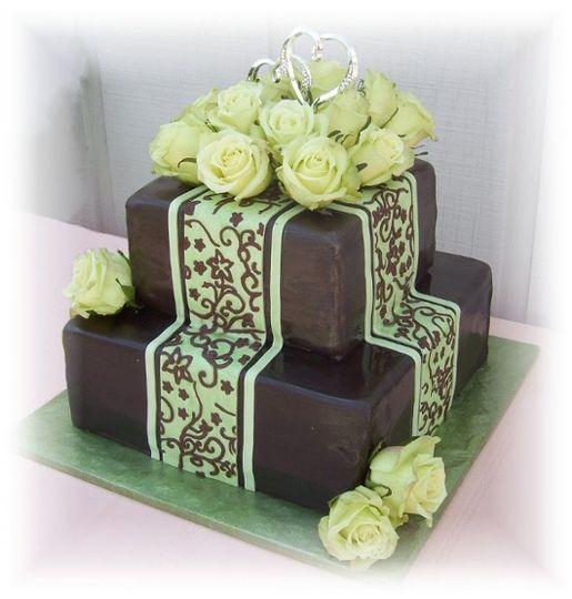 Creative Cakes By Patty Wedding Cake Hayden Id Weddingwire