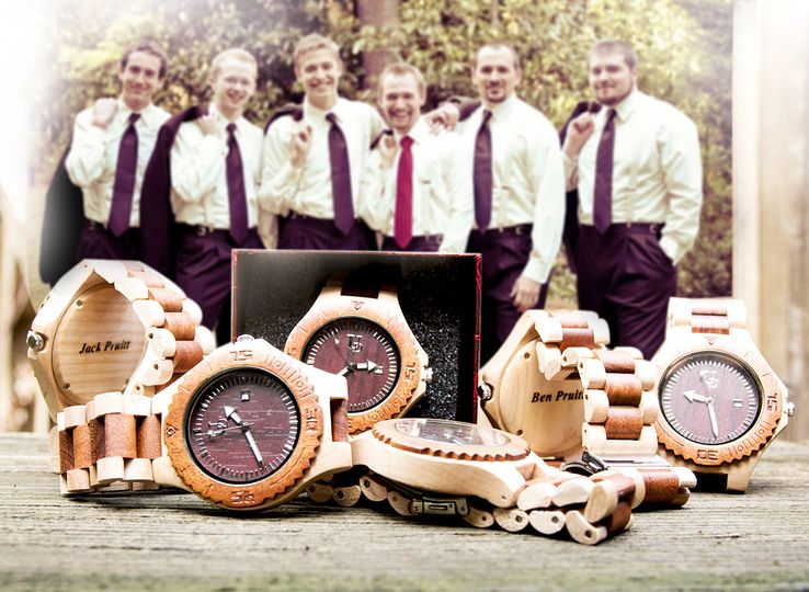 groomsmen gift ud woodwatch