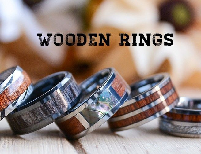 Wooden Rings Collection