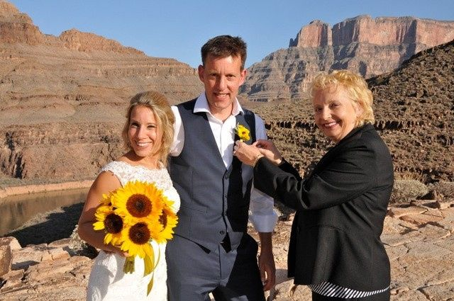 Picturesque Grand Canyon wedding