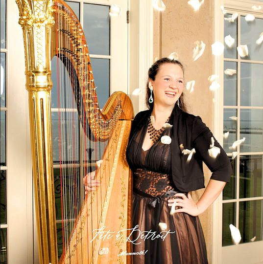 Chanah Ambuter, Michigan Harpist