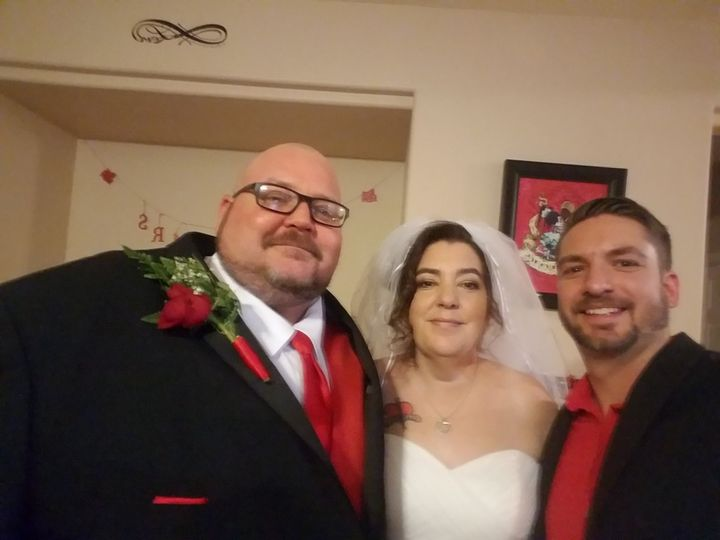 Married this wonderful couple