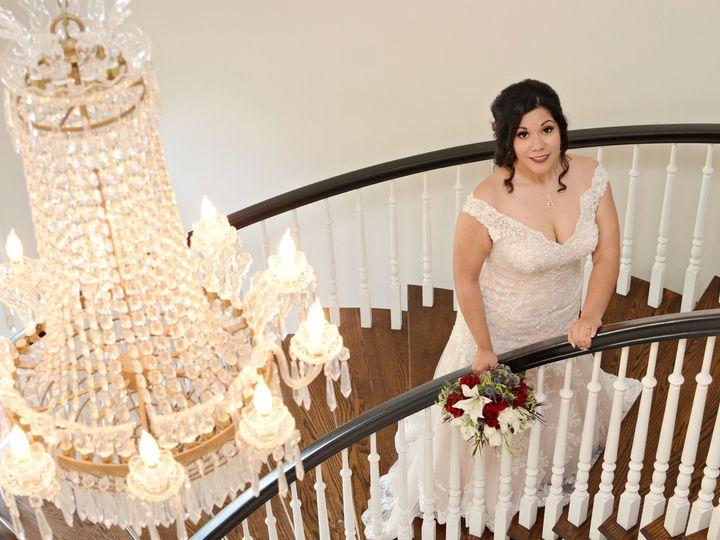 Tmx Bride On Stair Case With Chandelier Pretty Adrian 51 325240 Bastrop, TX wedding venue