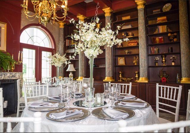 Tmx Library Table Seating 51 325240 Bastrop, TX wedding venue