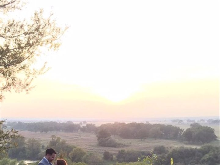 Tmx Sunset With Bride And Groom 51 325240 Bastrop, TX wedding venue