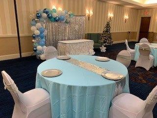 Baby Shower Tiffany Blue