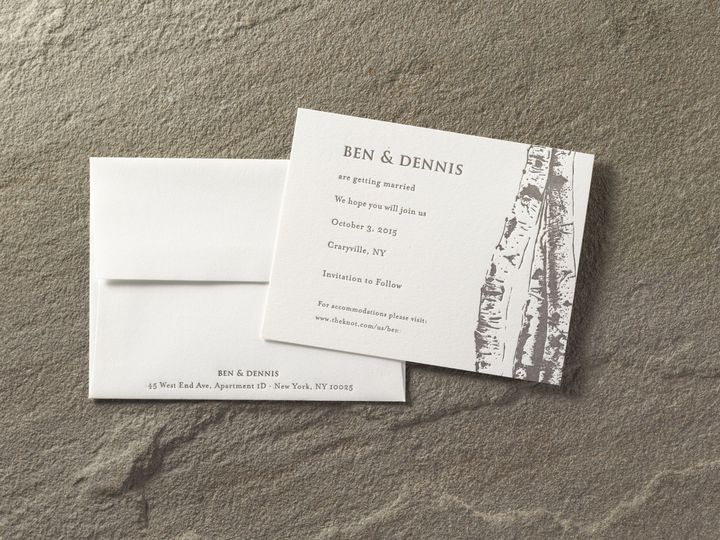 Tmx 1474428217000 Bendennissdsmall Kingston, New York wedding invitation