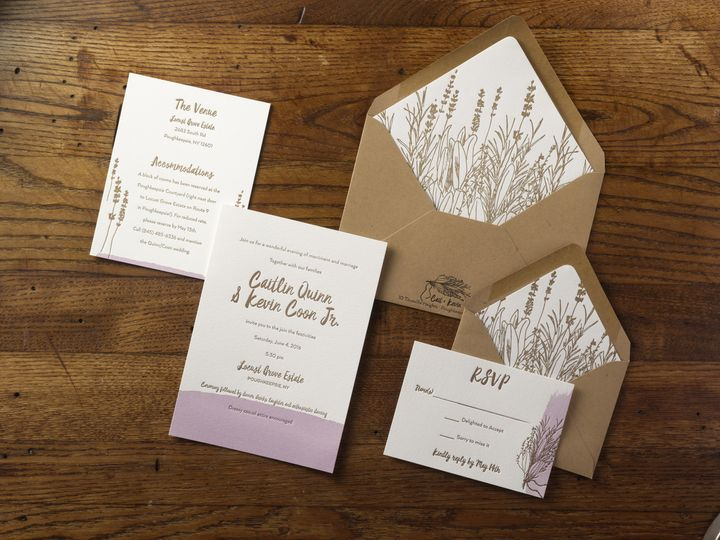 Tmx 1474428413022 Caitlinkevinsmall Kingston, New York wedding invitation