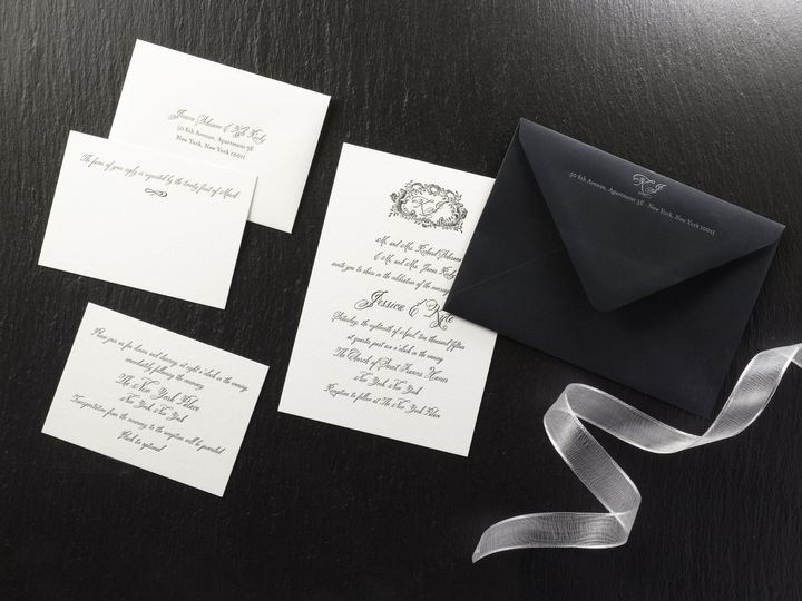 Tmx 1474433660617 Jessica  Kylesmall Kingston, New York wedding invitation