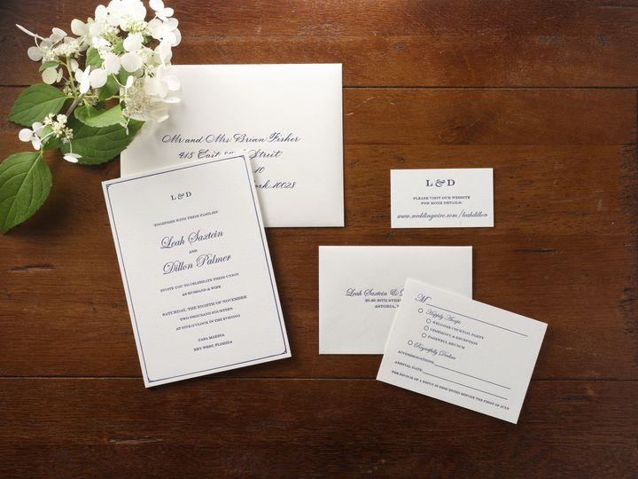 Tmx 1474433978102 Leahsmall Kingston, New York wedding invitation