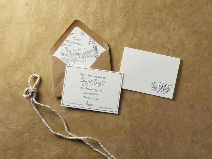 Tmx 1474435987968 Elizabeth And Jeffsdsmalltif Kingston, New York wedding invitation