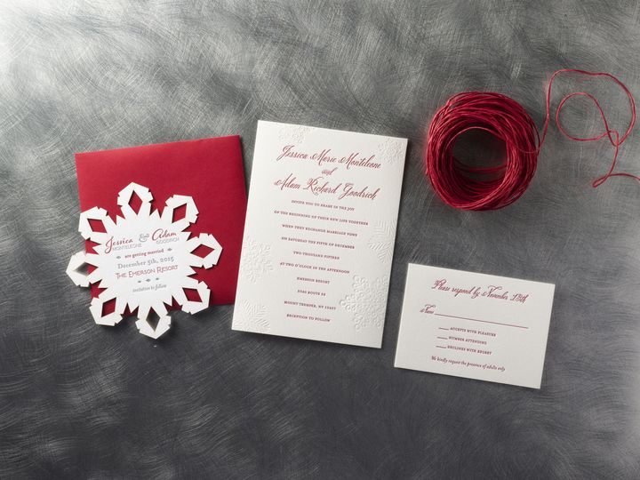 Tmx 1474436101107 Jessica  Adamsmall Kingston, New York wedding invitation